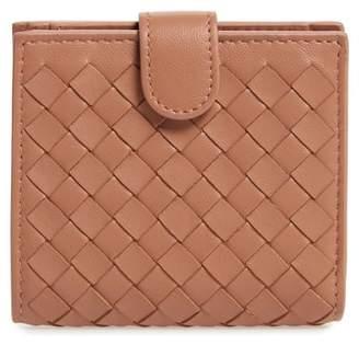 Bottega Veneta Intrecciato Leather French Wallet