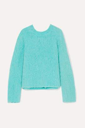 Maison Margiela Bouclé Sweater - Blue