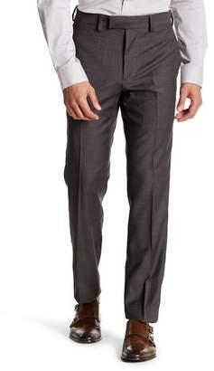 "Louis Raphael Sharkskin Slim Fit Pants - 30-34\"" Inseam"