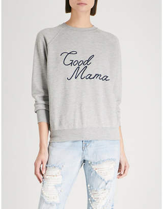 Good American Good Mama cotton-jersey sweatshirt
