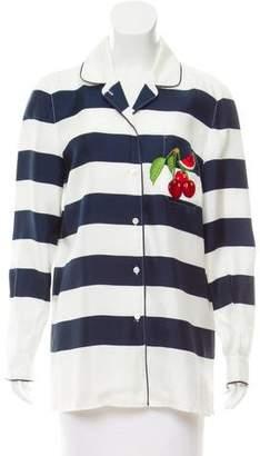 Dolce & Gabbana Silk Pajama Shirt