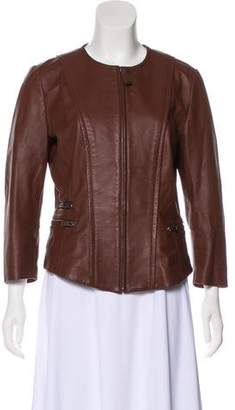 Max & Co. MAX&Co. Lightweight Leather Jacket