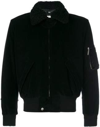 Saint Laurent classic corduroy bomber jacket