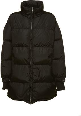 Prada Linea Rossa Oversized Zipped Padded Coat