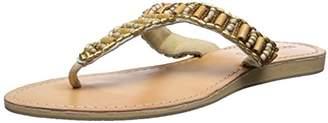 Cocobelle Women's Bamboo Beaded Sandal