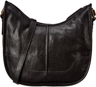 Frye Lucy Zip Leather Crossbody