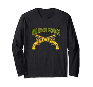 Military Police 95B Athletic Jersey Styled Long Sleeve Tee