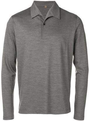 Caruso knitted polo shirt