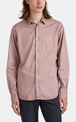Officine Generale Men's Cotton Twill Shirt - Rose