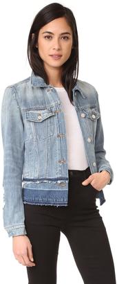 J Brand Deena Jacket with Released Hem $248 thestylecure.com