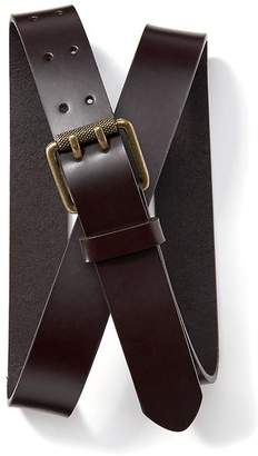 Old Navy Double Prong Leather Belt for Men