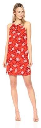 Cooper & Ella Women's Red Floral Mila Tassel Dress