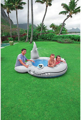 Intex Sandy Shark Spray Inflatable Pool - 7.5ft - 182 Litres