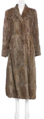 Giorgio Armani Fur Long Coat
