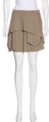 Alexander Wang Layered Asymmetrical Skirt