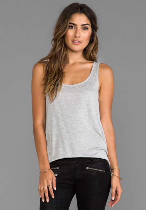 Haute Hippie Tank with Overlapped Back
