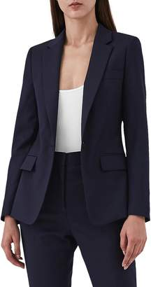 Reiss Fenton Stretch Wool Blend Jacket