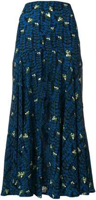 Sonia Rykiel long printed skirt