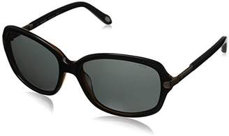 Fossil Women's FOS2010PS Polarized Rectangular Sunglasses