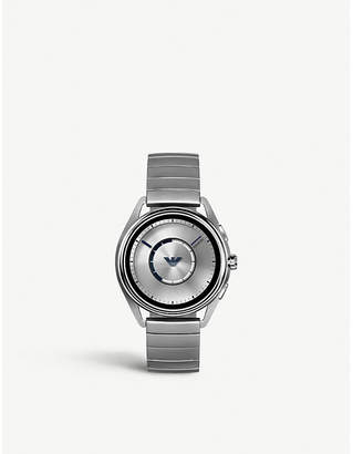 Emporio Armani Matteo touchscreen stainless steel watch