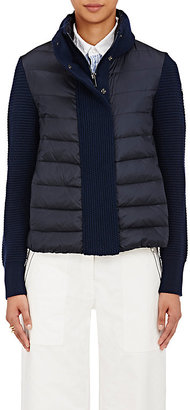 Moncler Women's Maglione Zip-Front Sweater $725 thestylecure.com