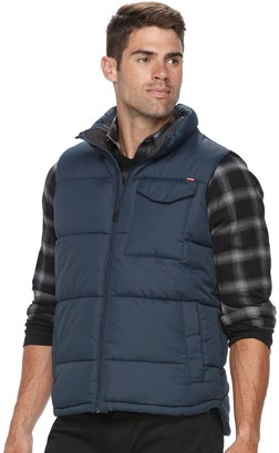 Hemisphere Men's Solid Puffer Vest