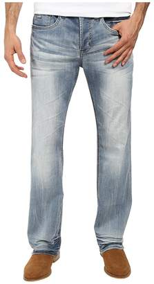 Buffalo David Bitton King Slim Boot Cut Jeans in Heavy Sandblasted Men's Jeans