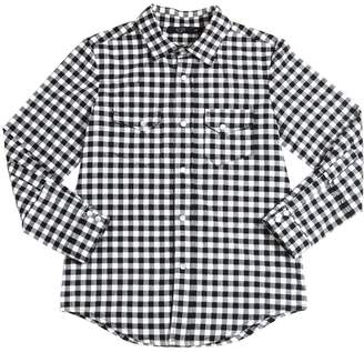 N°21 Cotton Flannel Plaid Shirt