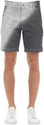 Diesel Gr Uniforma X Red Tag Cotton Canvas Shorts