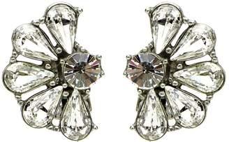 Veronica Beard Crystal Cluster Earrings