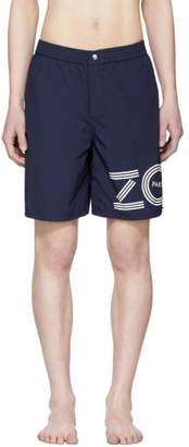 Kenzo Navy Logo Shorts