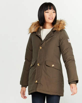 Svea Miss Smith Faux Fur-Lined Down Jacket