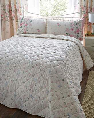 Fashion World June Quilted Throw