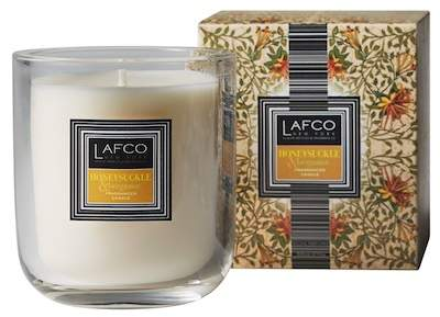 LAFCO New York Scented Candle - Honeysuckle & Bergamot