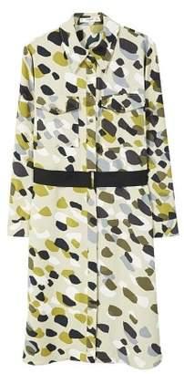 MANGO Camo-print dress