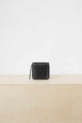 French Connenction Polly Studded Leather Wallet