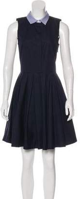 Band Of Outsiders Sleeveless Mini Dress