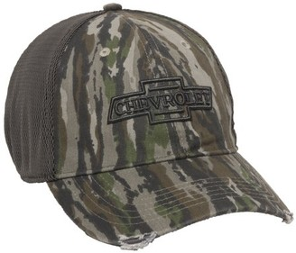 Realtree Chevy Stretch Fit Cap in Original Camo ; Large / X-Large