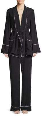 Equipment Theron Two-Piece Pajama Set