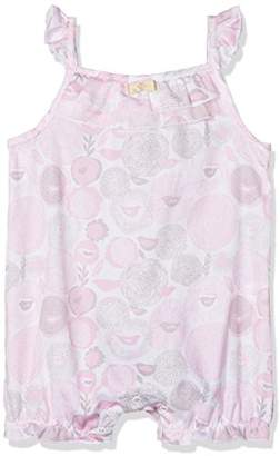 3 Pommes Baby Girl's Pink Romper,(Manufacturer Size:3M/6M)