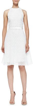 Jason Wu Corded Lace Dress W/ Flounce Hem $838 thestylecure.com