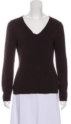 Max Mara 'S Silk-Cashmere V-neck Sweater