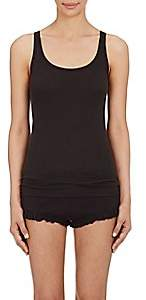 Skin Women's Pima Cotton Rib-Knit Tank - Black