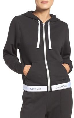 Women's Calvin Klein Lounge Hoodie $72 thestylecure.com