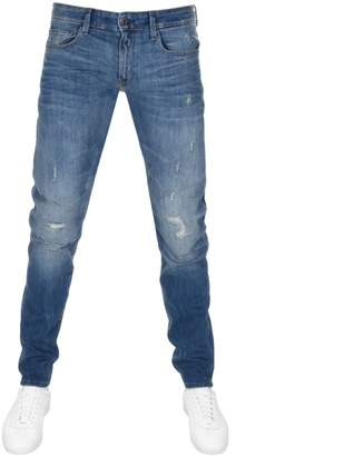 G Star 3301 Super Slim Jeans Blue