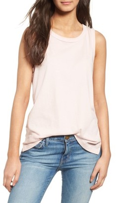 Women's Current/elliott 'The Muscle Tee' Tank $98 thestylecure.com