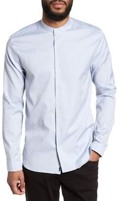 HUGO Eddison Relaxed Fit Solid Sport Shirt