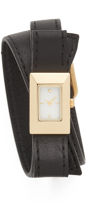 Kate Spade New York Kenmare Double Wrap Watch $225 thestylecure.com