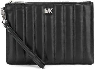 MICHAEL Michael Kors quilted logo clutch