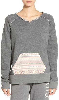 Rip Curl Surf Bandit Mixed Media Sweatshirt $54 thestylecure.com